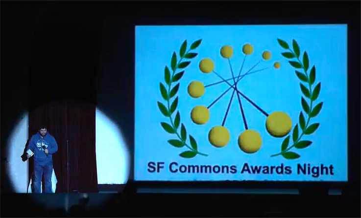 Matthew McIntyre accepting award