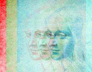 Leonardo Portrait Rainbow